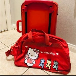 Vintage 1996 Hello Kitty Red duffle bag